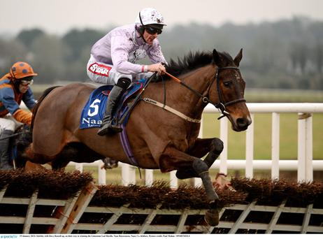 Solwhit, with Davy Russell on board. Photo: Paul Mohan/SPORTSFILE