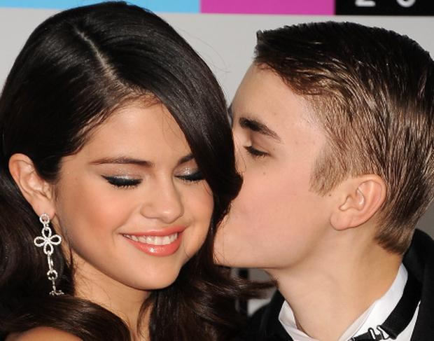 Justin Bieber and Selena Gomez. Photo: Getty
