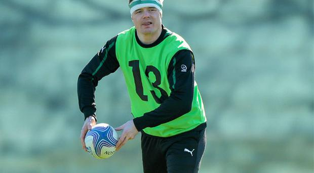 Brian O'Driscoll has overcome his injury concerns and will be named in the Ireland team to play Italy