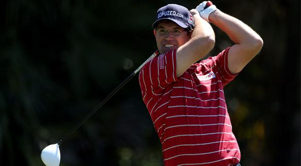 """Padraig Harrington says the glasses he wore for the first time last weekend in Miami """"are here to stay"""""""