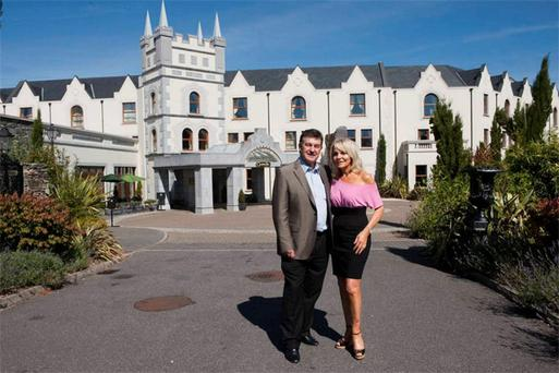 Bill Cullen and Jackie Lavin at the five-star Muckross Park Hotel in Killarney, Co Kerry