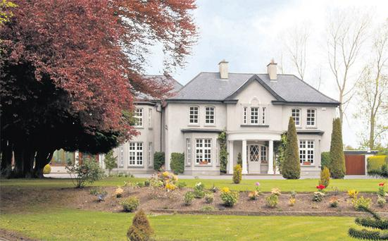 Property, on 121 acres, is going to auction in two lots, writes Donal Buckley