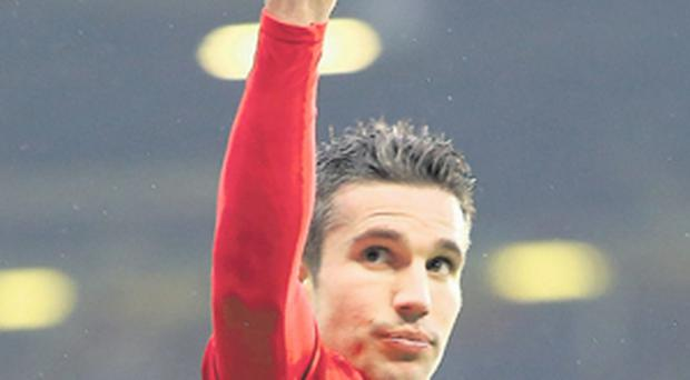 Manchester United striker Robin van Persie will seek to get back to scoring form in this evening's Premier League clash with Reading at Old Trafford.