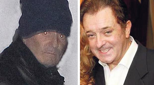 BEFORE AND AFTER: Kevin McGeever, left, leaving Gort Garda Station on Friday and, right with Siobhan in happier times