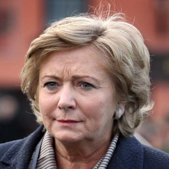 Minister for Children and Youth Affairs Frances Fitzgerald