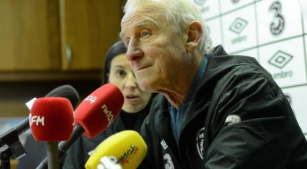 Republic of Ireland manager Giovanni Trapattoni