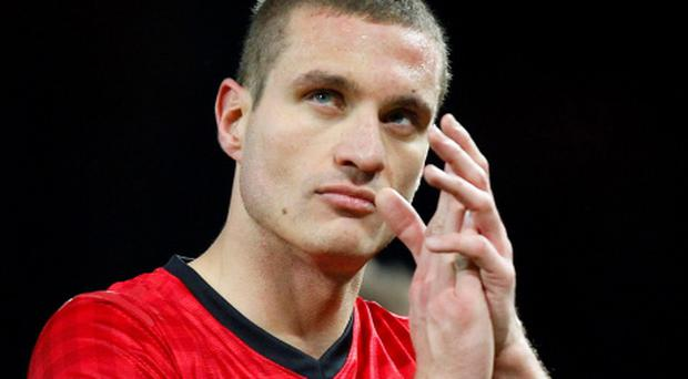 Nemanja Vidic insists Manchester United have no intention of letting lightning strike twice. Picture: Dave Thompson/PA Wire.