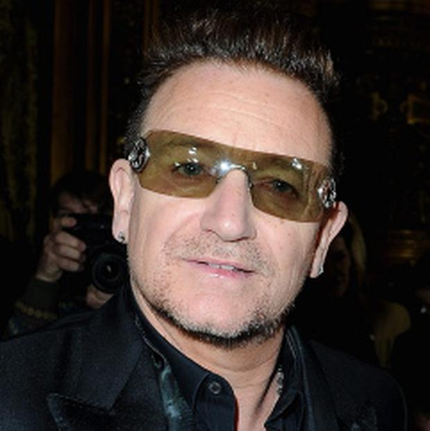 Rock star Bono. Photo: Pascal Le Segretain/Getty Images