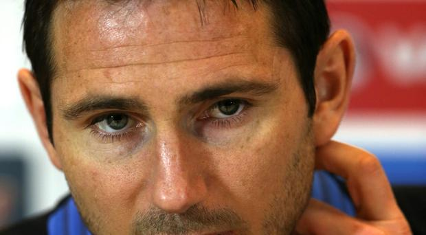 England's Frank Lampard during the England press conference