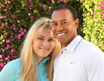 Tiger Woods and Lindsey Vonn, who have announced that they are dating.