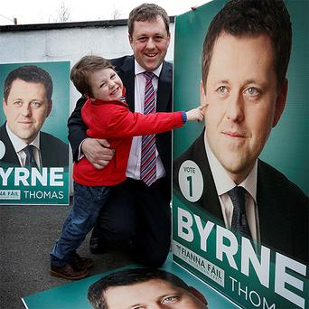 Fianna Fail Senator and by-election candidate Thomas Byrne