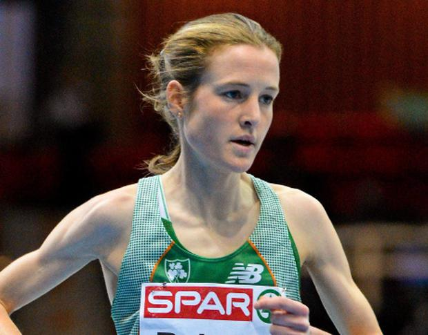 Irish athlete Fionnuala Britton