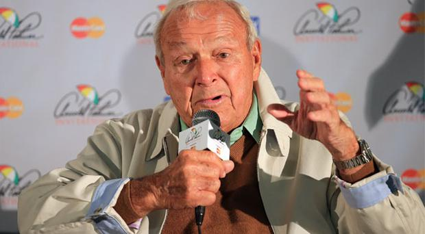 Arnold Palmer speaking at a pre-tournament press conference in Florida said he was 'disappointed' at Rory McIlroy's absence