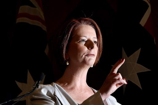Ms Gillard announced that she would put her leadership to a vote after a senior minister, Simon Crean, publicly withdrew support for her.