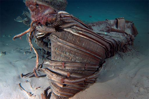 An expedition funded by Amazon's CEO Jeff Bezos has recovered rusted pieces of two Apollo-era rocket engines from the depths of the Atlantic Ocean.