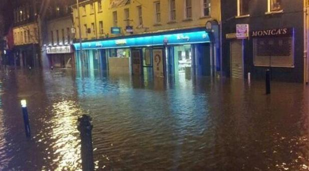 Flooding in Blackpool Co Cork