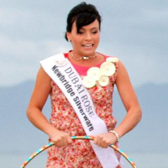Grainne Boyle was the Dubai Rose
