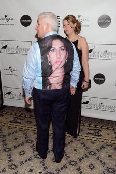 Mitch Winehouse and Jane Winehouse attend the 2013 Amy Winehouse Foundation Inspiration Awards