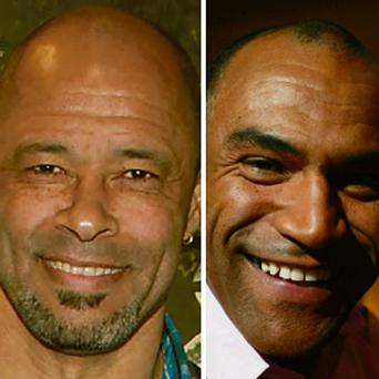 SPOT THE SIMILARITY: Paul McGrath and Kevin Sharkey: born 18 months apart