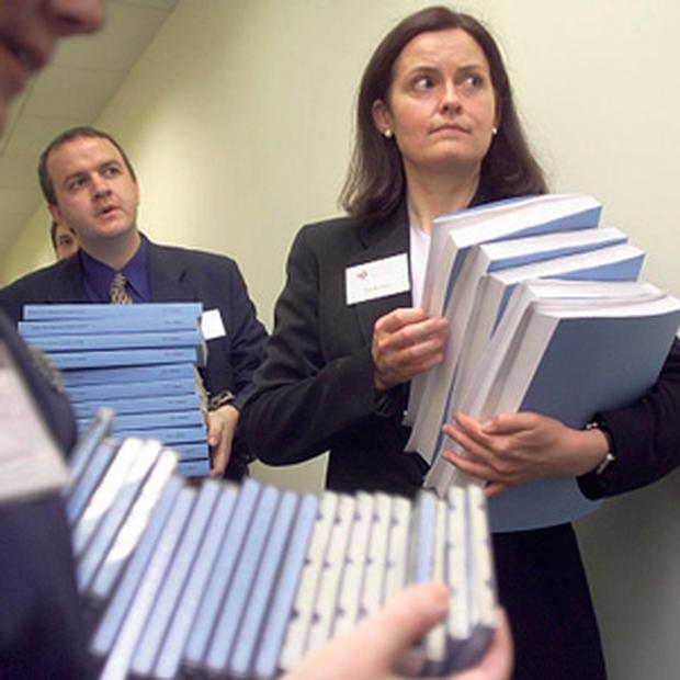 THE TRUTH HURTS (OR NOT): Ansbacher report revealed 289 cases of illegality.