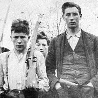 Some members of the Clonmult IRA unit, which was active in Midleton, Co Cork, during the War of Independence