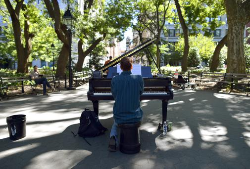 Washington Square Park in New York TIMOTHY A. CLARY/AFP/GettyImages