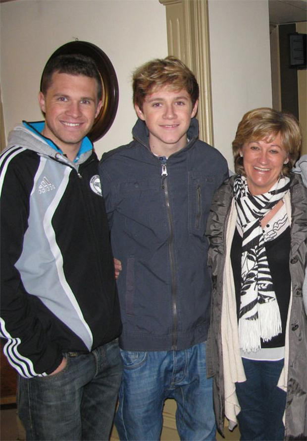 Niall Horan With His Family