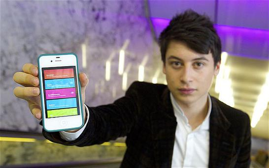 Nick D'Aloisio, 17, is the creator of Summly, an iPhone app that condenses news articles