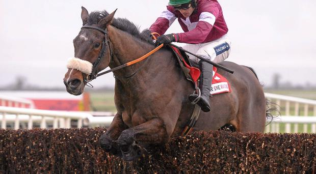 Bog Warrior, with Ruby Walsh in the saddle