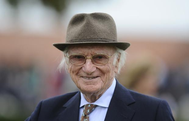 The late racing commentator Peter O'Sullevan