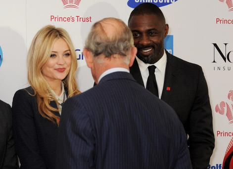 Laura Whitmore meets Prince Charles