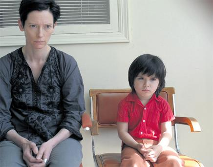Tilda Swinton played a mom who finds it difficult to love her son in We Need to Talk About Kevin