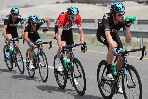 Bradley Wiggins and SKY Procycling team