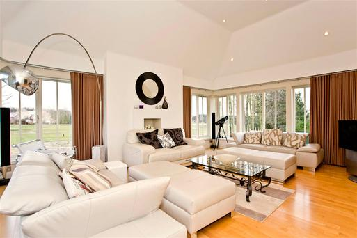 Inside Duncan Bannatyne's house in Wynyard, County Durham which he is selling for £875,00 following his divorce from his second wife.