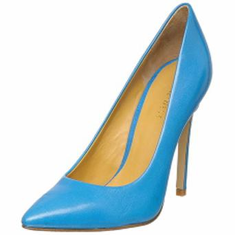 Nine West blue stilettos, €140 @ Arnotts