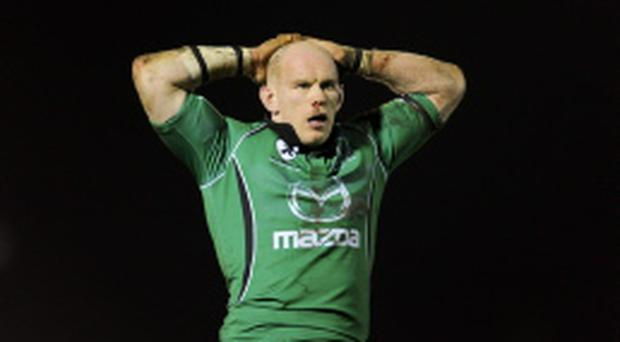 Connacht's Johnny O'Connor is retiring