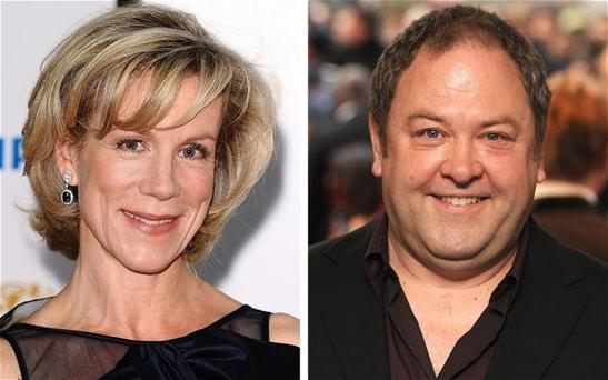 Juliet Stevenson and Mark Addy will star in Atlantis Photo: PA