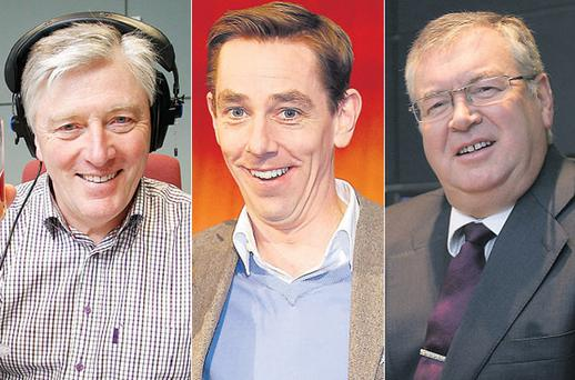 Pat Kenny, Ryan Tubridy and Joe Duffy