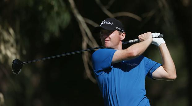 Michael Hoey in action during the Pro-Am of the Trophee du Hassan II Golf at Golf du Palais Royal