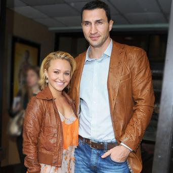 During an interview earlier this month Hayden admitted she is back with Wladimir-Klitschko.