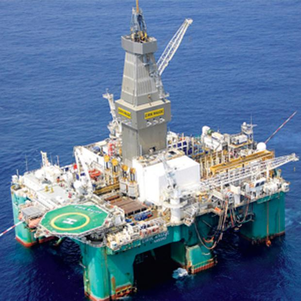 ExxonMobil has spent $20m to bring the exploration rig from west Africa to Ireland's waters. The Eirik Raude semi-submersible rig was operating on the Jubilee Field, Ghana, and is now on the Dunquin prospect to begin drilling test wells