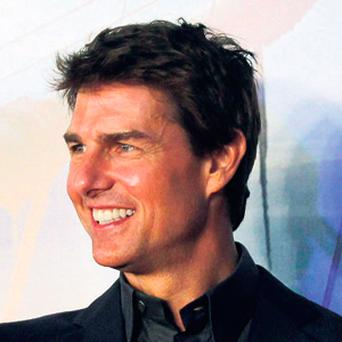 Tom Cruise at the premiere of 'Oblivion' in Buenos Aires, Argentina