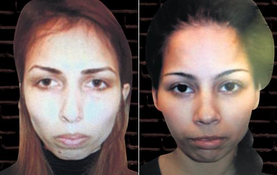 Veska Georgieva, left, and Mariyana Petrova were each given 21-month sentences after pleading guilty to multiple offences