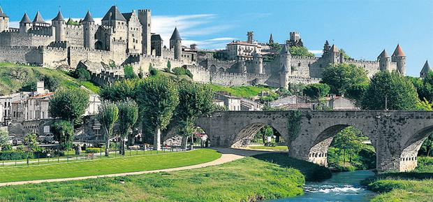 The bestselling thriller by Kate Mosse, is set in Carcassonne.