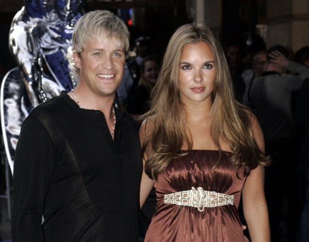 Kian Egan and Jodi Albert. Photo: Reuters/Luke McGregor