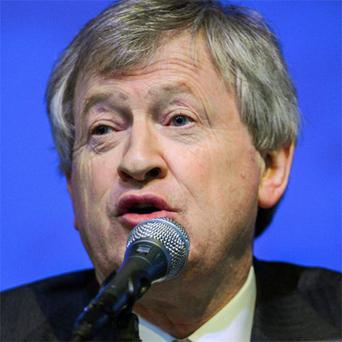 Páraic Duffy speaking at the GAA Annual Congress 2013