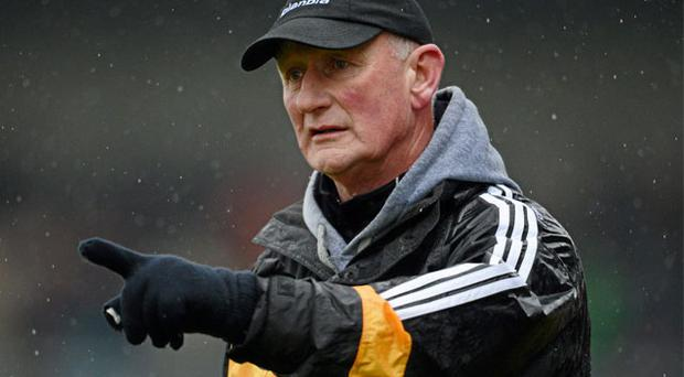 Kilkenny boss Brian Cody on the sideline directing his team during a recent National League clash against Waterford at Nowlan Park
