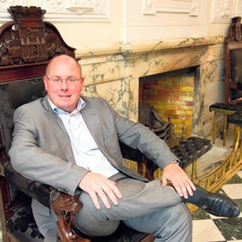 WEATHERING ADVERSITY: Nick Leeson, who is returning to business 18 years after losing $1.3bn betting on risky trades.