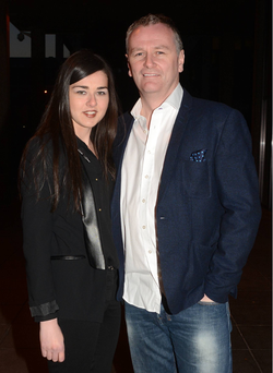 Daithi O'Se and wife Rita Talty