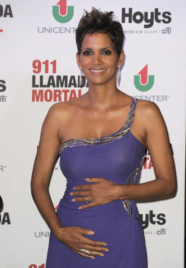 Actress Halle Berry is due in September.